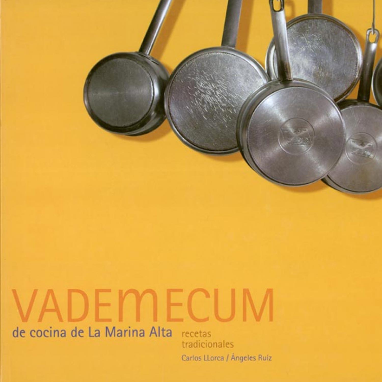 Reedición del libro VADEMECUM de cocina de la Marina Alta