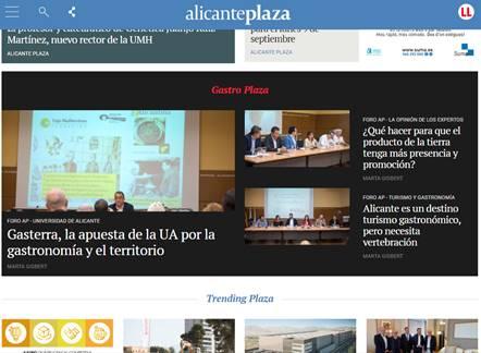 Foro Alicante Plaza sobre gastronomía