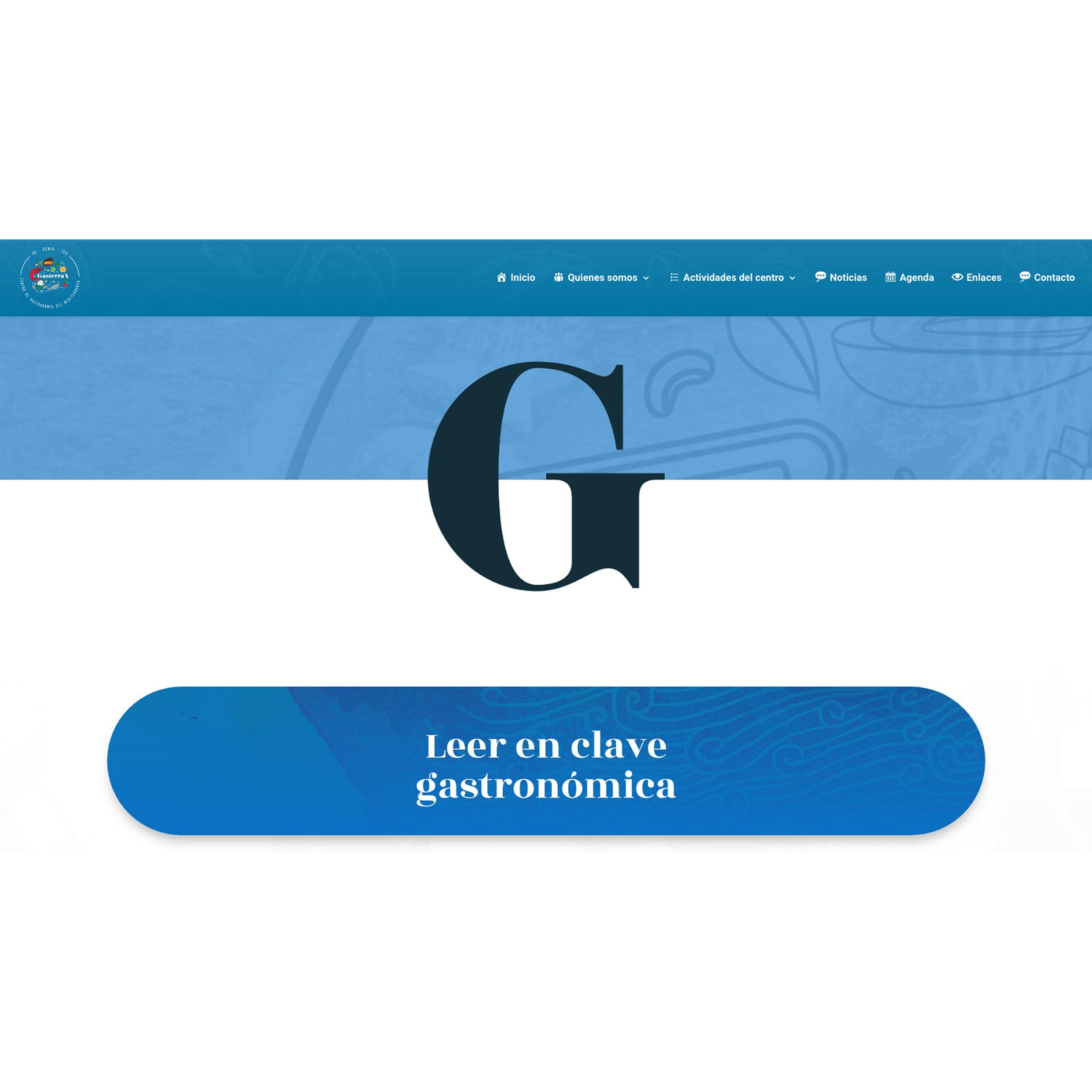Leer en Clave Gastronómica – GASTERRA
