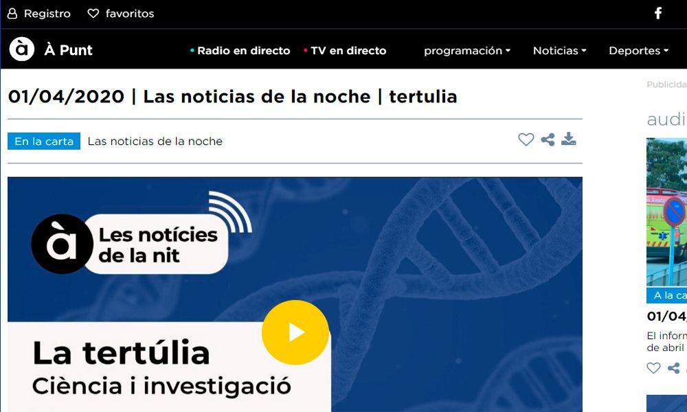 La tertulia. Ciencia e investigación