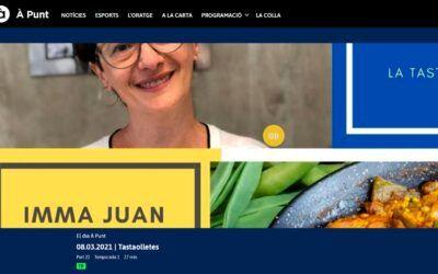 La Tastaolletes d'Imma Juan. El Corpus Culinari