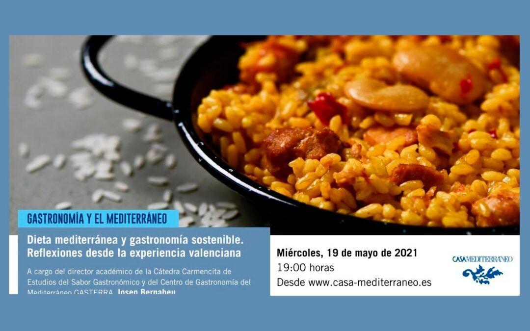 """Conferencia """"Dieta mediterrània i gastronomia sostenible. Reflexions des de l'experiència valenciana"""""""