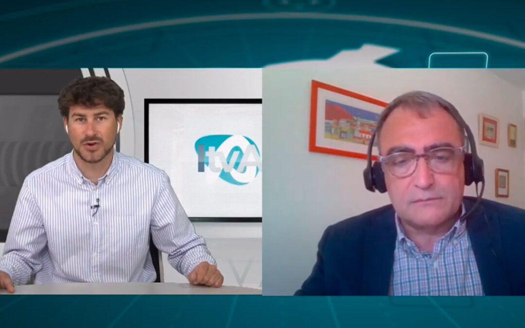 Entrevista en TV Alcoi a Josep Bernabeu Mestre