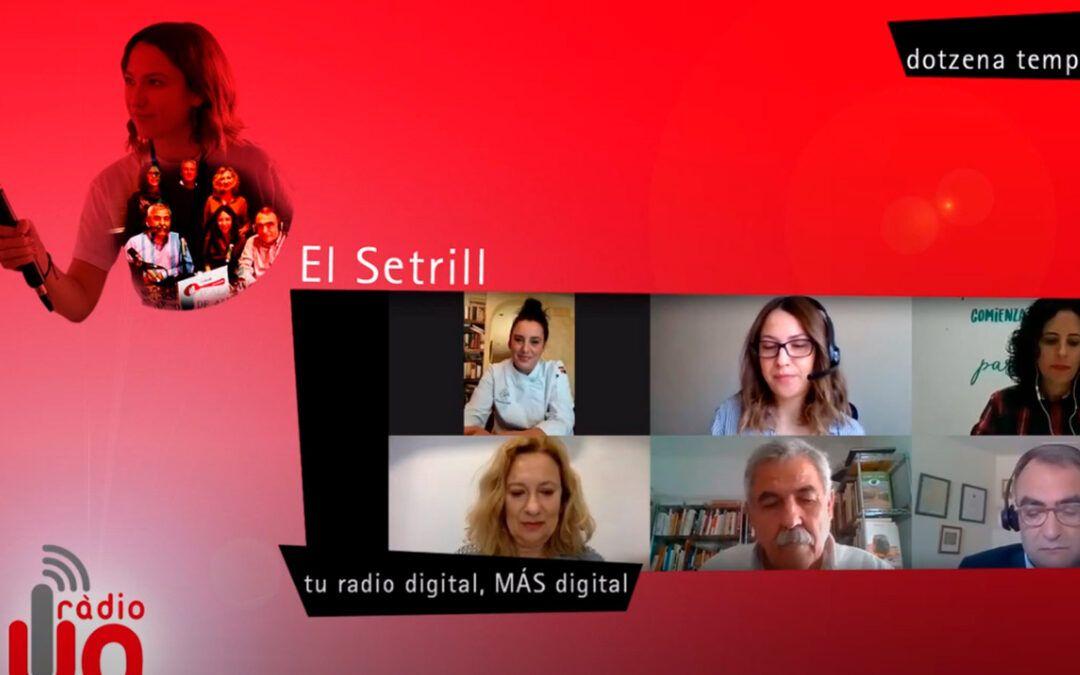 Promoción de una gastronomía sostenible: el programa El Setrill de radio UA